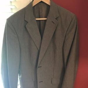 Express Design Studios Mens Slim Fit Suit Coat